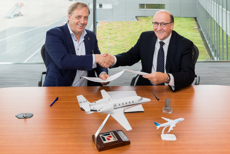 ASL Private Jet Services and ASL Airlines Belgium establish strategic partnership in Liege