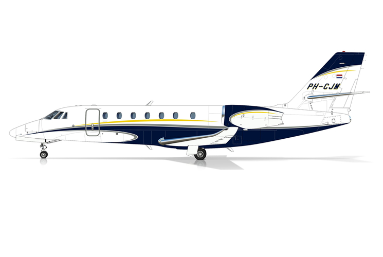 A new Cessna C680 Citation Sovereign joins the fleet!